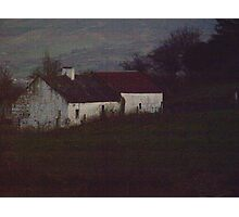 Irish Farmhouse Photographic Print
