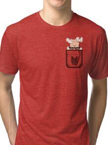Pocket Titan Tri-blend T-Shirt