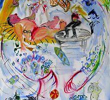Gold Coast Rah Rah Rah by Virginia McGowan