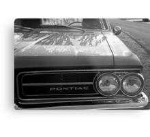Dew on a Pontiac Metal Print