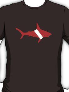 Shark Scuba Diver Silhouette T-Shirt