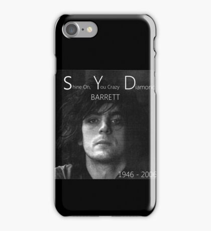 Syd barrett crazy diamond stuff iPhone Case/Skin