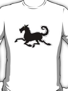 Galloping Horse Tshirt design T-Shirt
