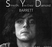 Syd barrett crazy diamond stuff by Majorafan101