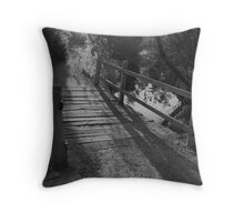 NEWPORT LAKES BRIDGE Throw Pillow