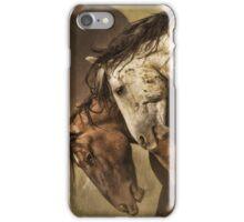 Mustangs Before Battle  iPhone Case/Skin