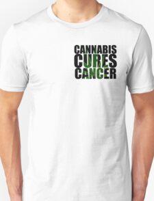 CANNABIS CURES CANCER T-Shirt