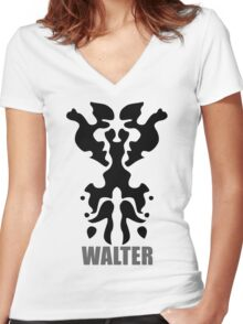 Walter Women's Fitted V-Neck T-Shirt