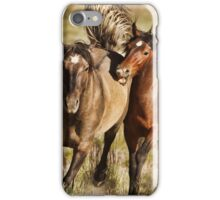 Mustang Chase iPhone Case/Skin
