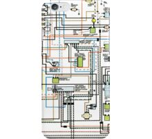 1972 car wiring diagram iPhone Case/Skin