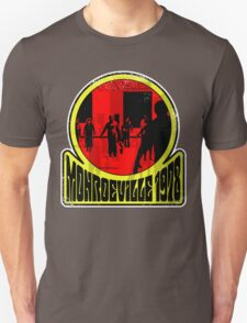 Monroeville, 1978 (White Background) Unisex T-Shirt