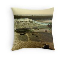 message in a bottle - 5 Throw Pillow