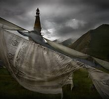 Tibetan Prayer Flag_2897 by jiashu xu