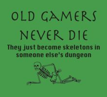 Old gamers never die by nickeybird