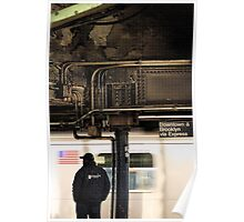 Downtown & Brooklyn via Express Poster
