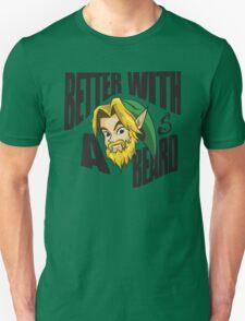Link Better With a Beard Unisex T-Shirt