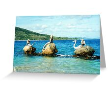 Three Mermaids, Daydream Island, Queensland Greeting Card