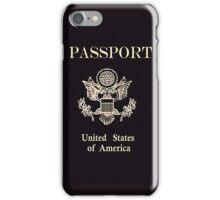 US Passport iPhone Case/Skin