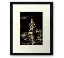 When It All Crashes Framed Print