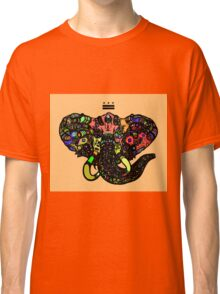 DC Elephant BLK orange ALT Classic T-Shirt