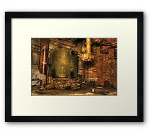 Boiler room Framed Print