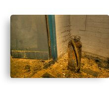 Rotting fire extinguisher Canvas Print