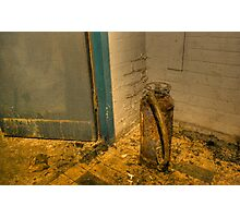 Rotting fire extinguisher Photographic Print