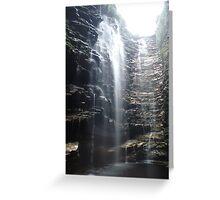 Cascada Moxilla Greeting Card