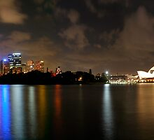 Sydney Summer Reflections by Philip Wong