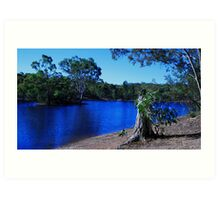 South Australian Scenery Art Print