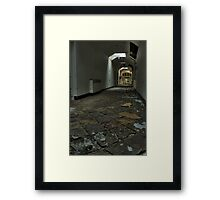 Tiled Corridor Framed Print