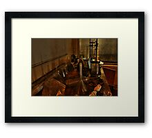 The lab Framed Print