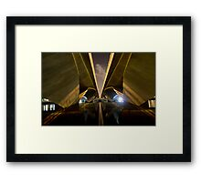 Two Pathways for One Journey Framed Print