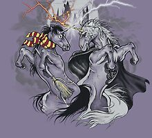 potter with unicorns  by Jonah Block