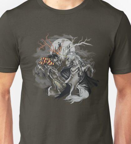potter with unicorns  Unisex T-Shirt