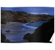 Night beach shot Poster