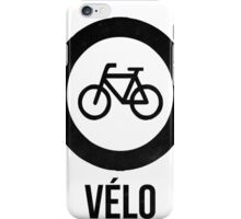 VÉLO  iPhone Case/Skin