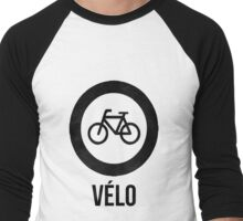VÉLO  Men's Baseball ¾ T-Shirt