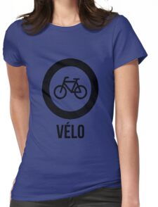 VÉLO  Womens Fitted T-Shirt