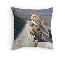 Sparrows Throw Pillow