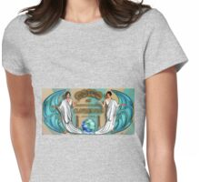 Box Top Womens Fitted T-Shirt