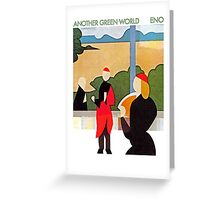 Brian Eno - Another Green World Greeting Card