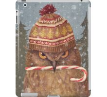 Christmas Owl  iPad Case/Skin
