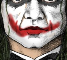 Wiseau SERIOUS?? The Room's Tommy Wiseau meets the Joker! Sticker
