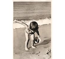 Digging for England! Photographic Print