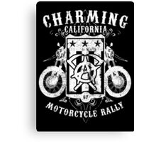 Charming California Canvas Print