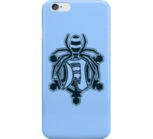 Senran Kagura - Gessen Academy Logo - Black Ice iPhone Case/Skin
