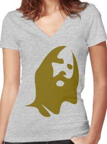 Jesus Women's Fitted V-Neck T-Shirt