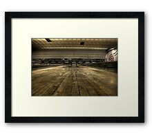 Ball's eye view Framed Print