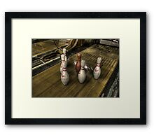 Missing pins Framed Print